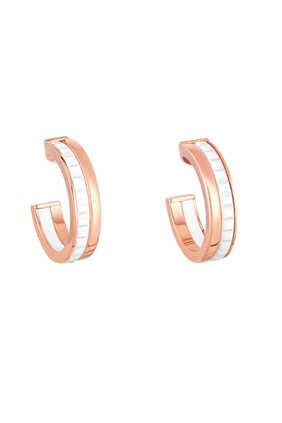 Classique Quatre Hoop Earrings