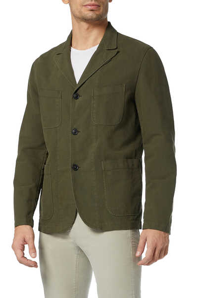 Cotton Satin Sports Jacket