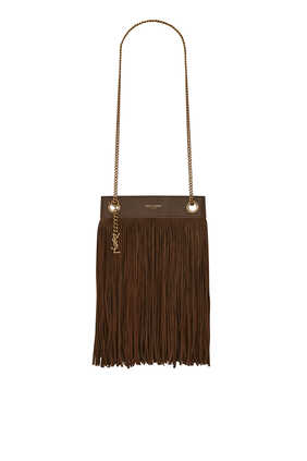 Grace Small Fringed Hobo Bag