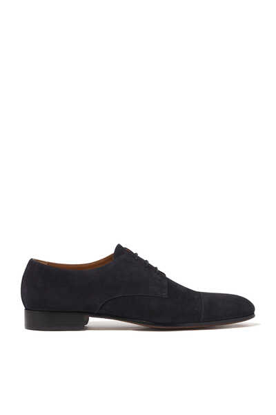 Orvi Suede Lace Up Derby Shoes