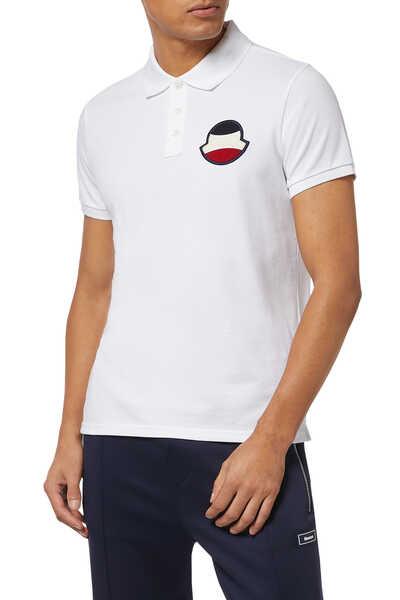 Logo Piquet Polo Shirt