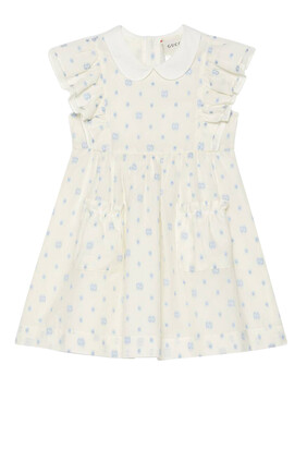 GG Dots Cotton Dress