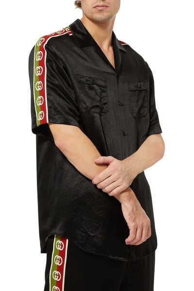 Acetate Oversize Bowling Shirt