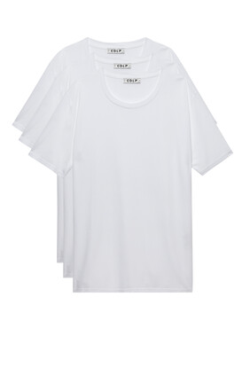 Crew Neck T-Shirt, Set of Three