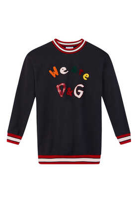 We Are DG Embroidered Sweatshirt