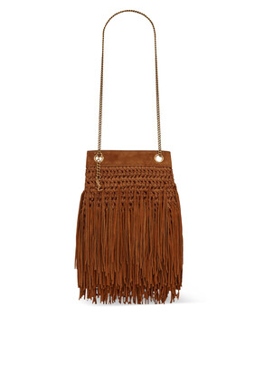 Grace Fringed Hobo Bag