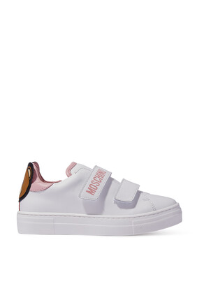 Double Velcro Teddy Bear Sneakers