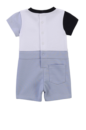 T-Shirt and Shorts Romper