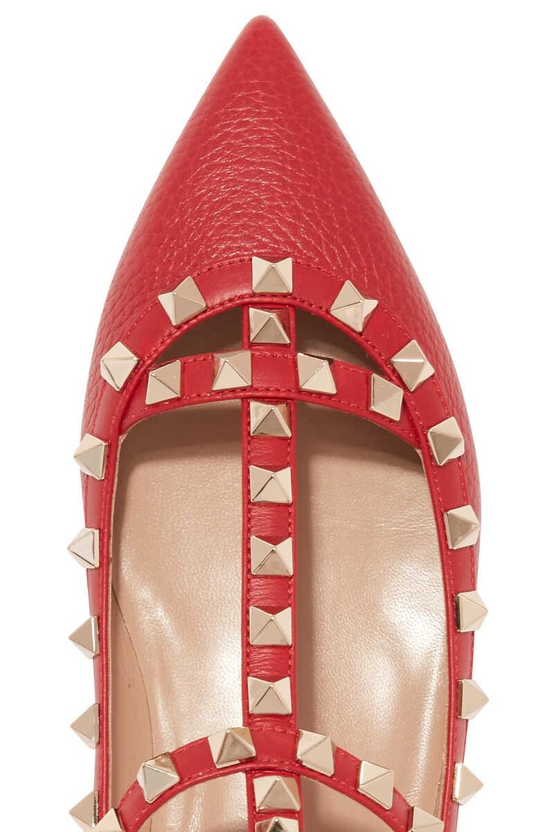 Valentino Garavani Rockstud Leather Sandals image number 4