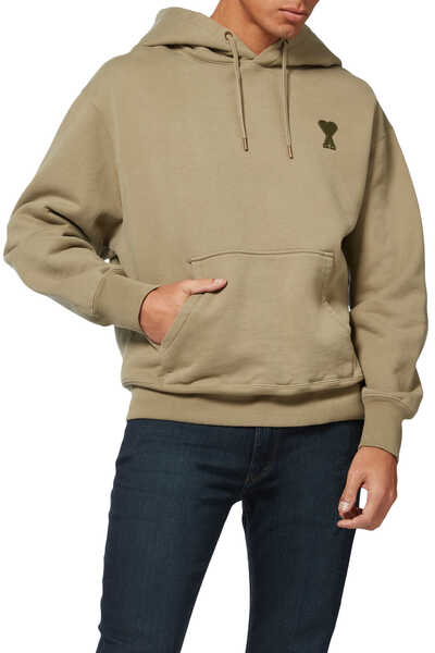Embroidered Patch Hoodie