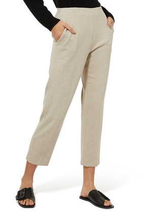 Clean Double Knit Pull-On Pants