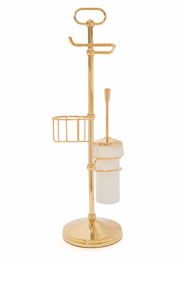 Cylinder Toilet Brush Stand image number 2