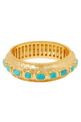 Gaia Turquoise Bangle