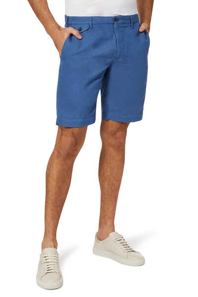 Lino Slim-Fit Shorts