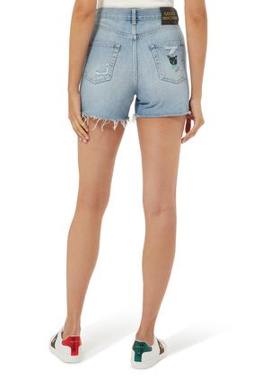 Eco Washed Denim Shorts