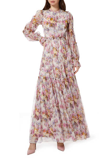 Harmony Floral Gown