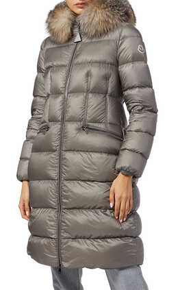 Boedic Down Quilted Nylon Parka
