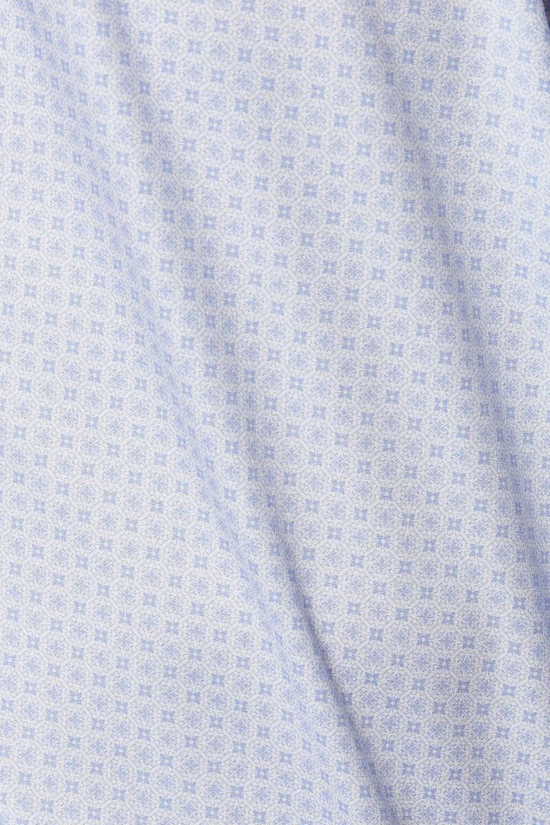 Tile Print Poplin Shirt image number 4