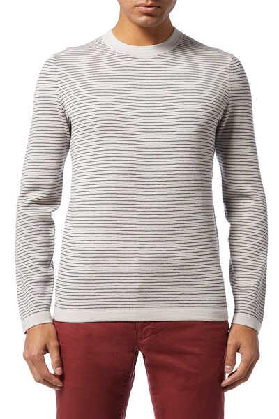 Merino Wool Stripe Sweater