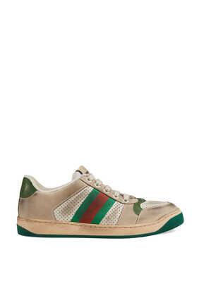 Screener Leather Sneakers