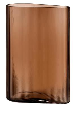 DJ Vase Nude Mist Caramel H290mm:Light/Pastel Brown:One Size