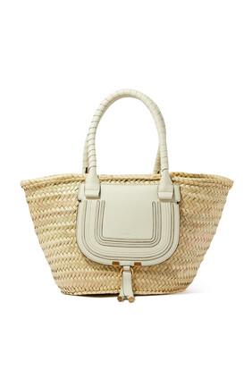 Medium Marcie Basket Bag