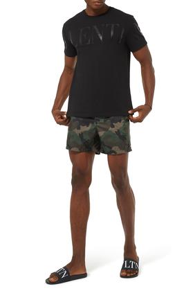 Camouflage Swim Shorts