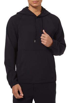 Hooded Tech Twill Sweatshirt