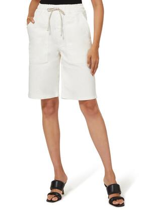Hadi Stretch Cotton Shorts