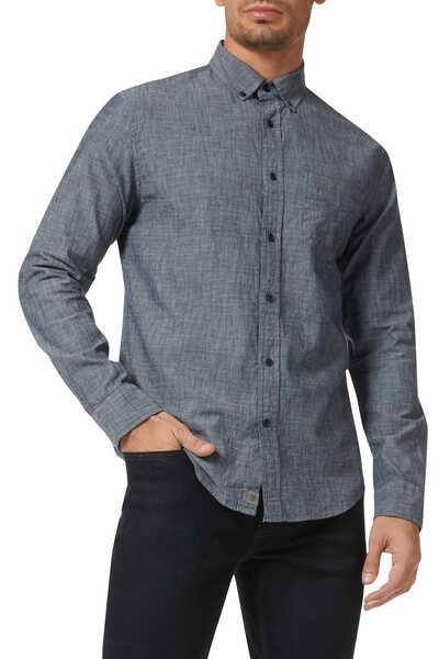 Slim-Fit Chambray Shirt