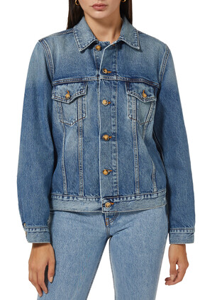 Overwashed Denim Jacket