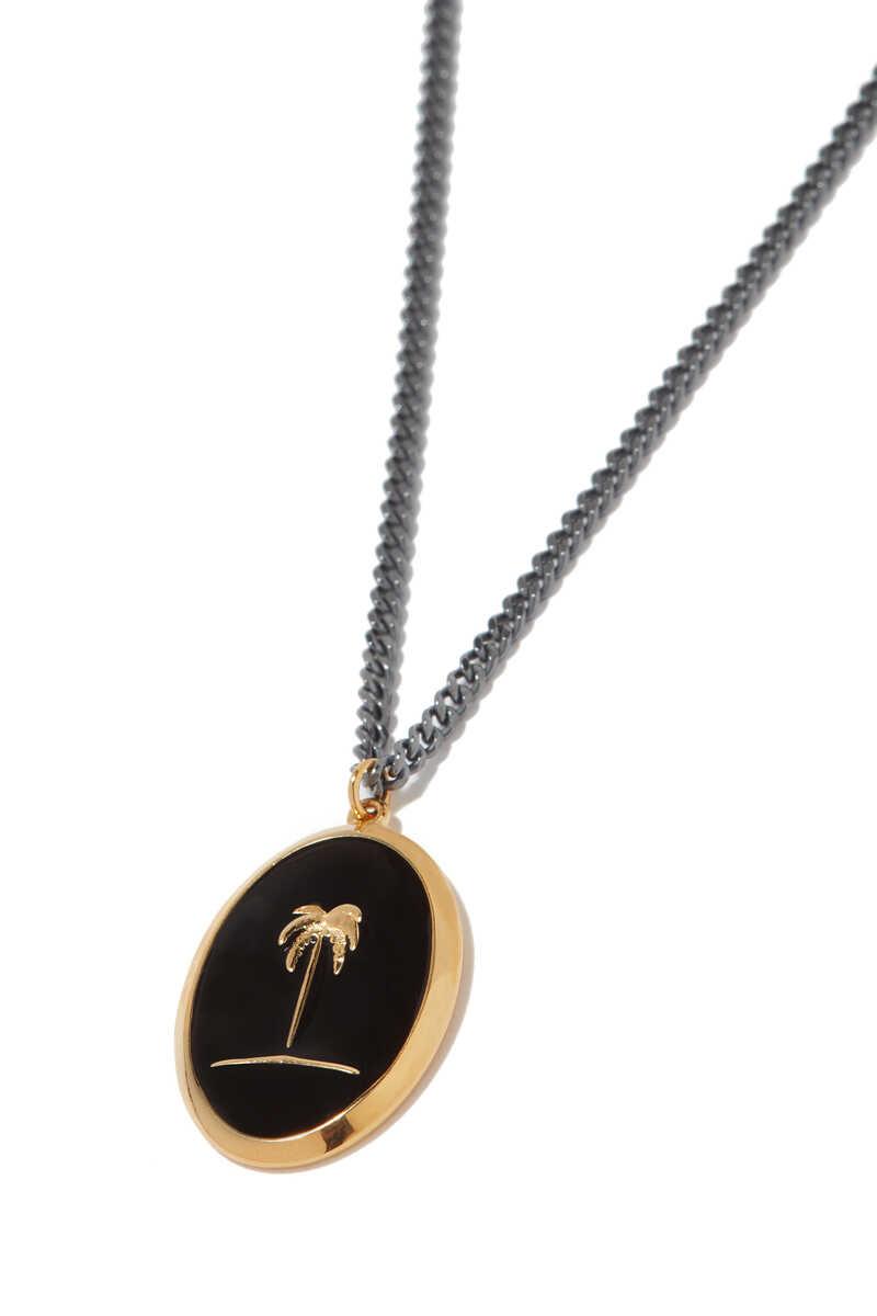 Palm Tree Pendant Neckline image number 2