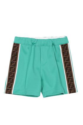 Monogram Trim Shorts