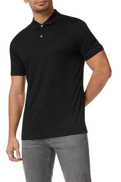 Luxury-Touch Cotton Polo Shirt