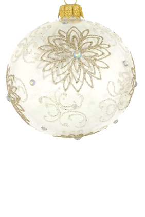 Glass Flower Ornament