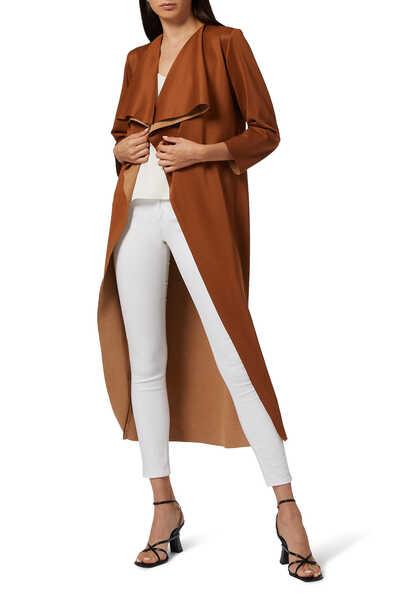 Suede Coat Abaya