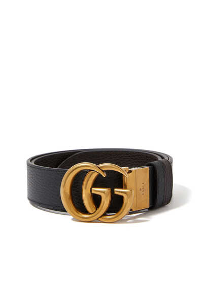 Reversible Double G Leather Belt