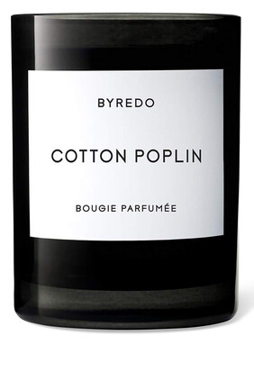 Cotton Poplin Candle