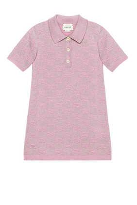 GG Sparkling Wool Dress