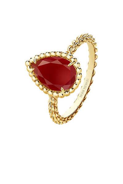 Serpent Bohème Carnelian Small Ring
