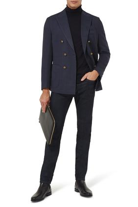 Button Wool Blazer