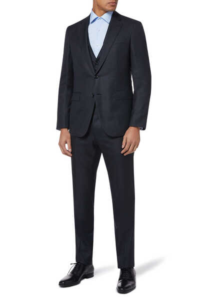 Slim-Fit Wool Suit