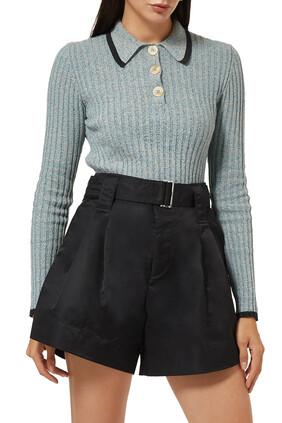 Linen Knit Top