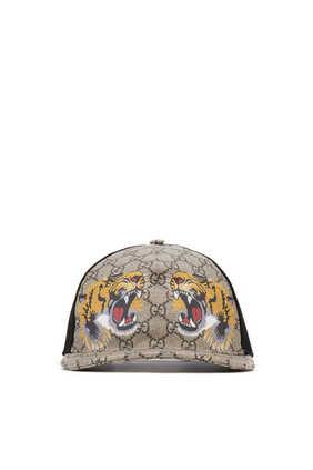 Tigers Print GG Supreme Baseball Hat