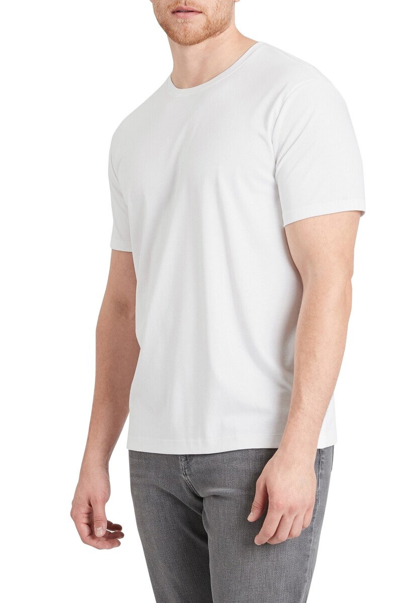 Luxury-Touch Crew Neck T-Shirt image number 1