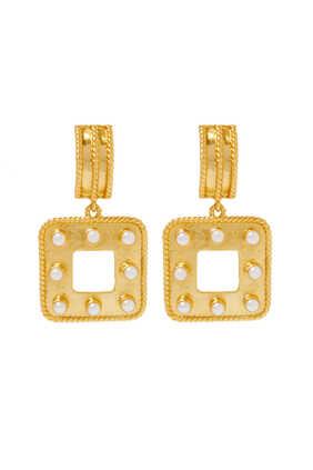 Anona Peridot Earrings