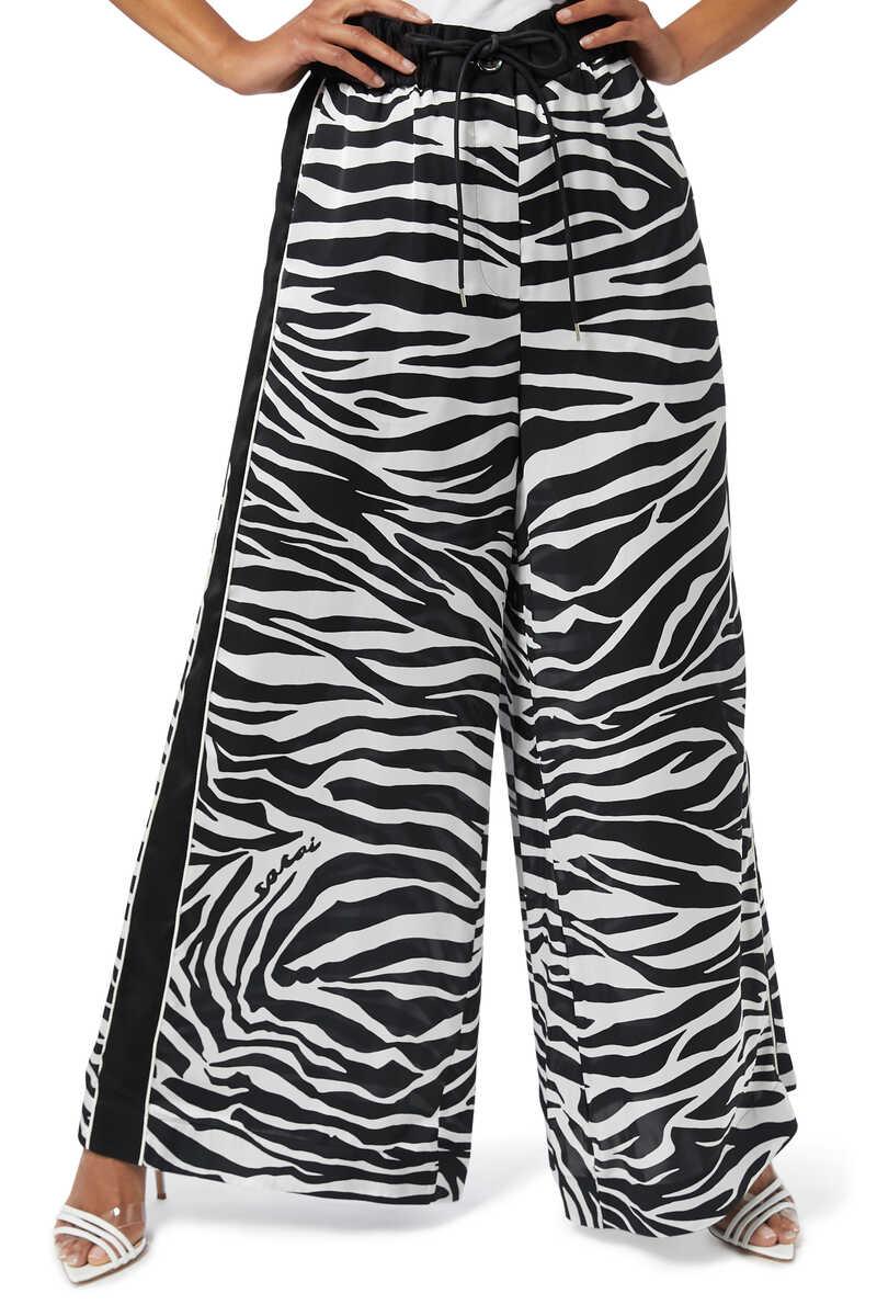 Zebra Print Pants image number 1