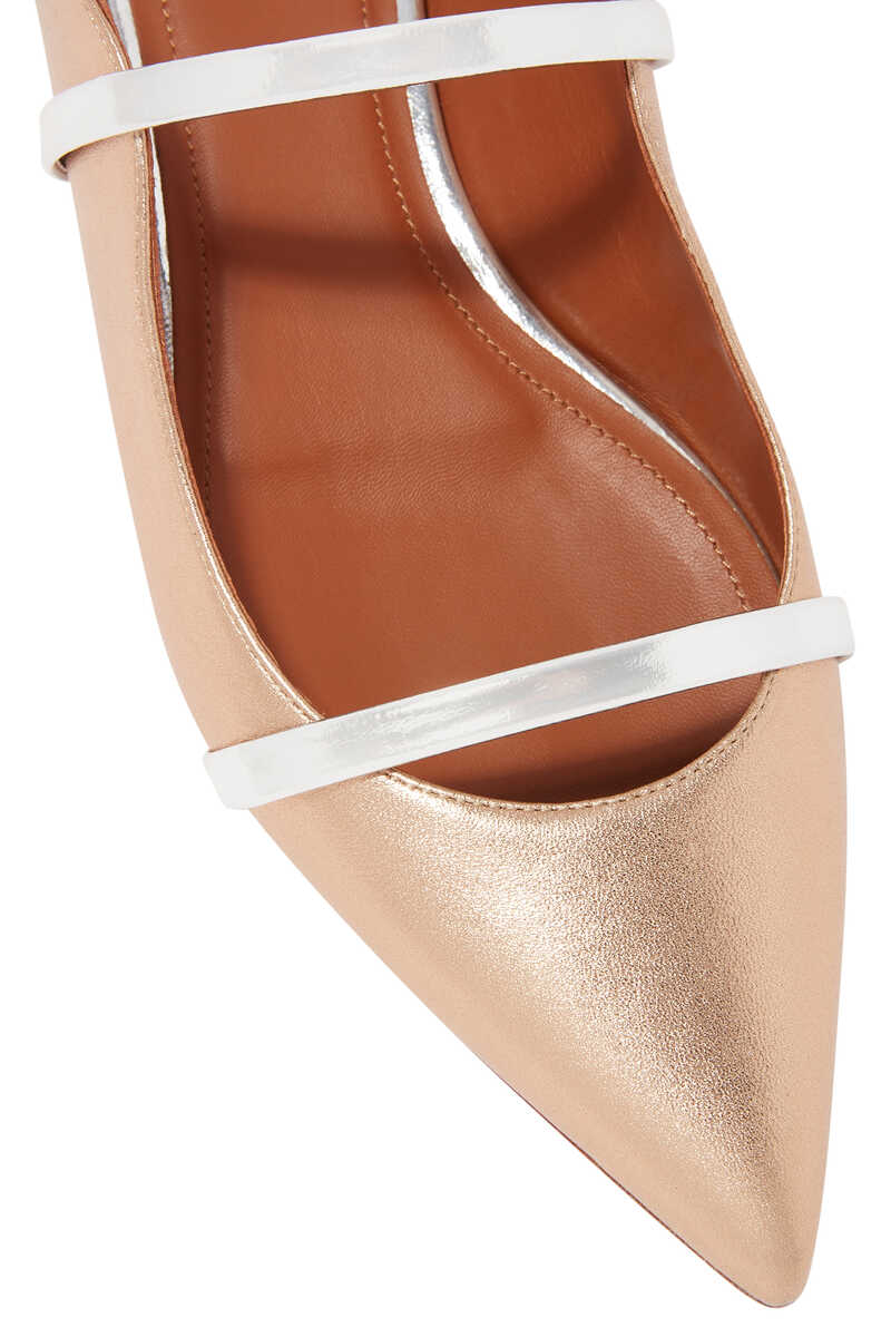 Maureen Metallic Flat Mules image number 4
