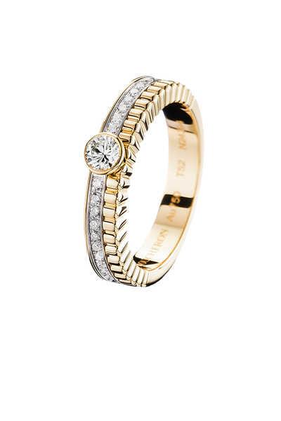 Quatre Radiant Edition Solitaire Ring
