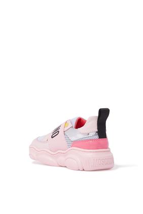 Logo Strap Sneakers